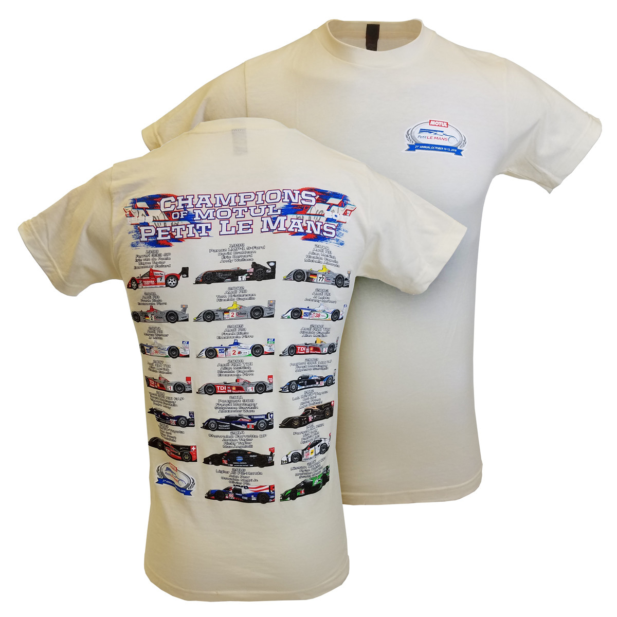 Petit Le Mans Champions Tee- Natural