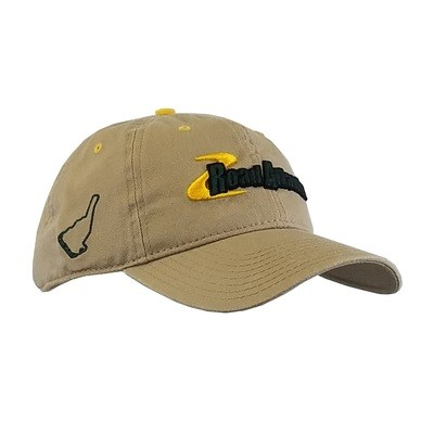 Road Atlanta Khaki Wash Cap