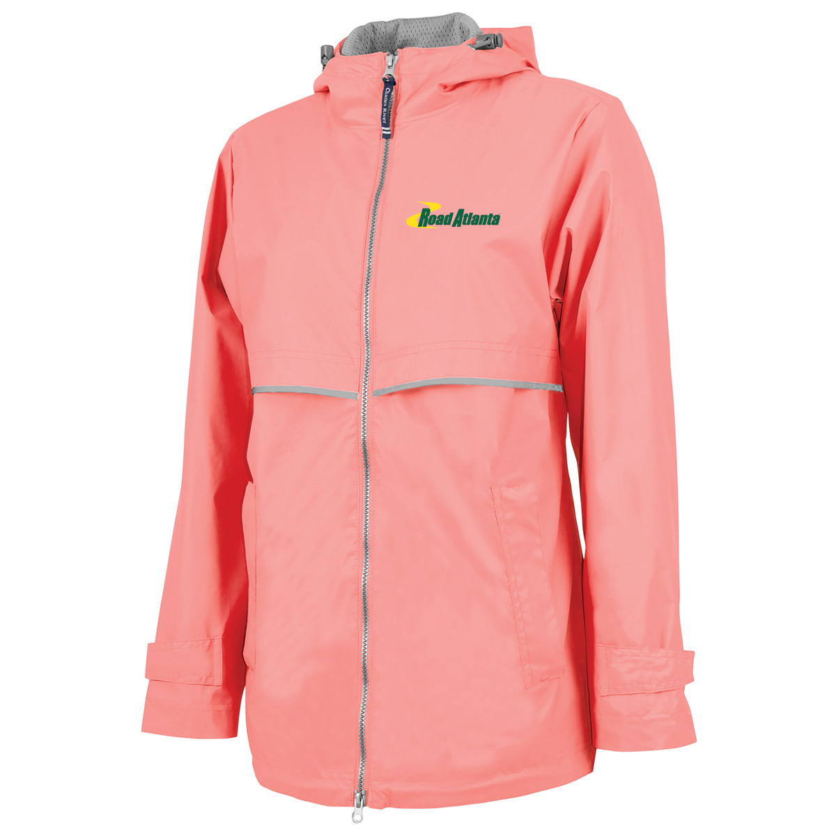 RA Ladies NE Rain Jacket- Coral