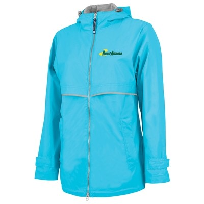 Road Atlanta Ladies NE Rain Jacket- Wave Blue