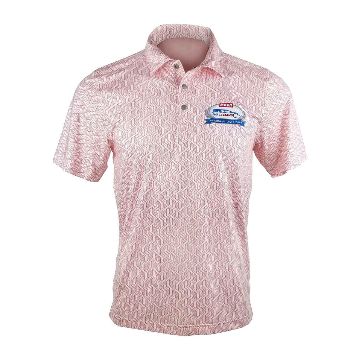 2018 MPLM Men's Golf Shirt - Tour Red