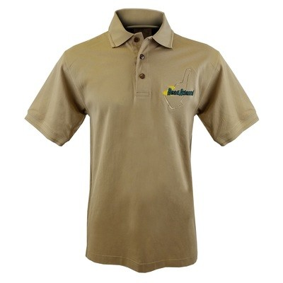 Road Atlanta Khaki Polo - Khaki