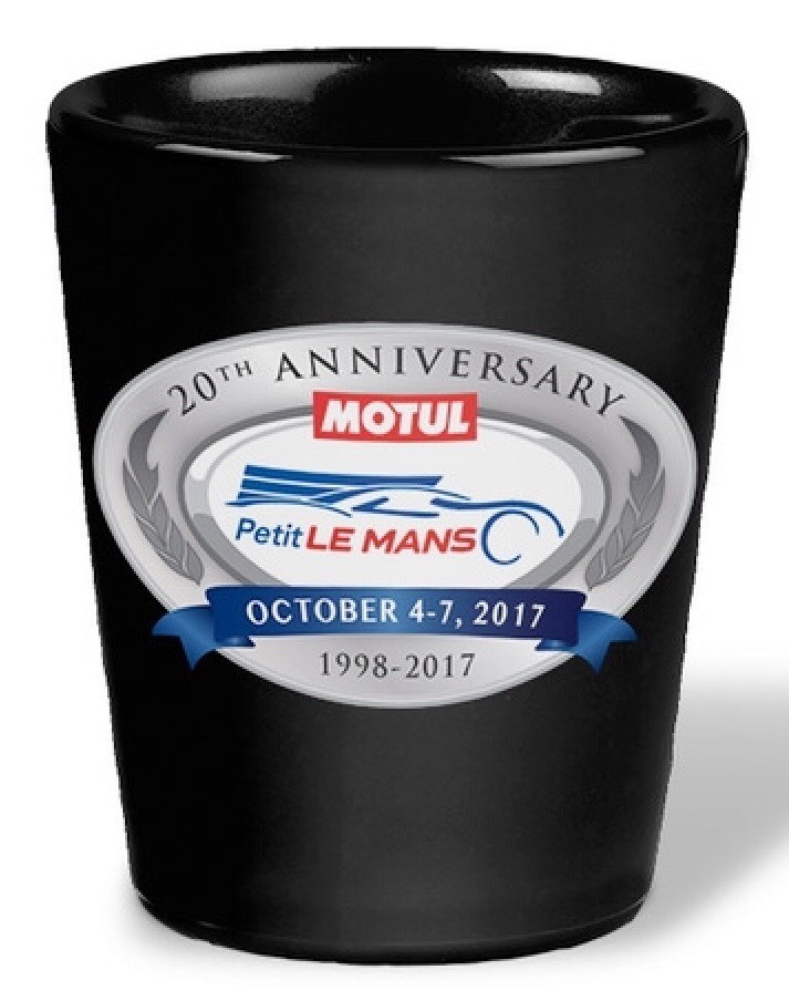 2017 PLM Shot Glass - Black