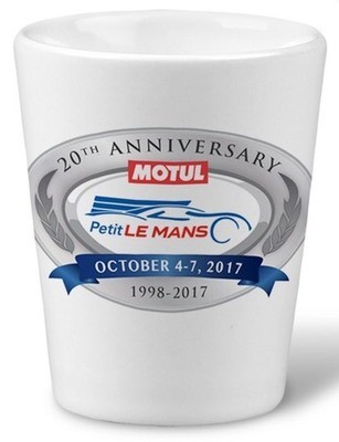 2017 PLM Shot Glass - White
