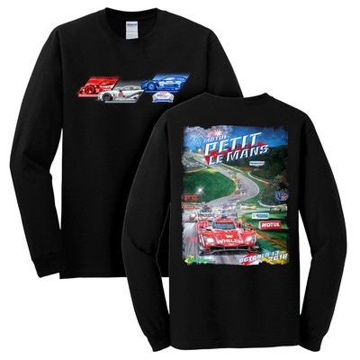 2018 MPLM Poster Long Sleeve Tee - Black