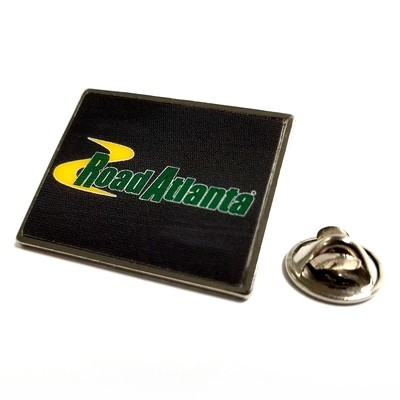 Road Atlanta Rect Lapel Pin