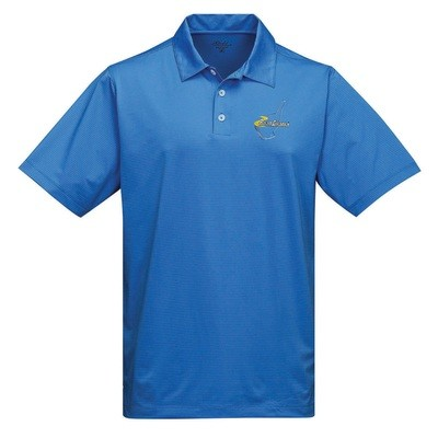 Road Atlanta Polo - Blue Stripe