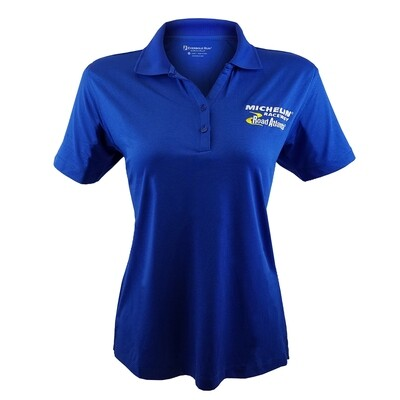 Michelin Raceway Road Atlanta Ladies Micro Stripe Polo