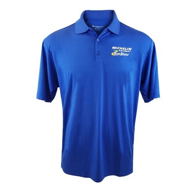 Michelin Raceway Road Atlanta Men's Micro Stripe Polo