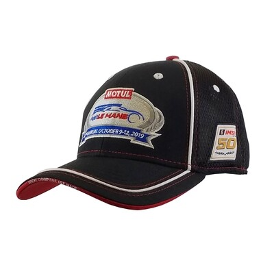 2019 Motul Petit Le Mans Hat-Black/Red/White