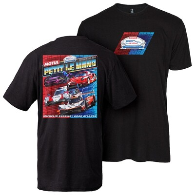 2019 Motul Petit Le Mans Car Class Tee - Black Heather