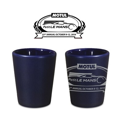 2019 Motul Petit Le Mans Shot Glass Blue