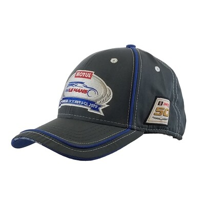 2019 Motul Petit Le Mans Hat - Charcoal/Royal