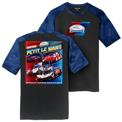 2019 Motul Petit Le Mans Car Class Performance Tee - Black/Royal