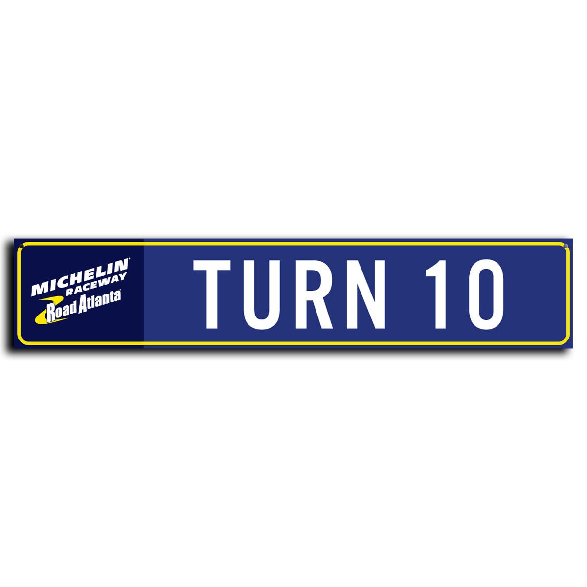 Street Sign - Turn 10