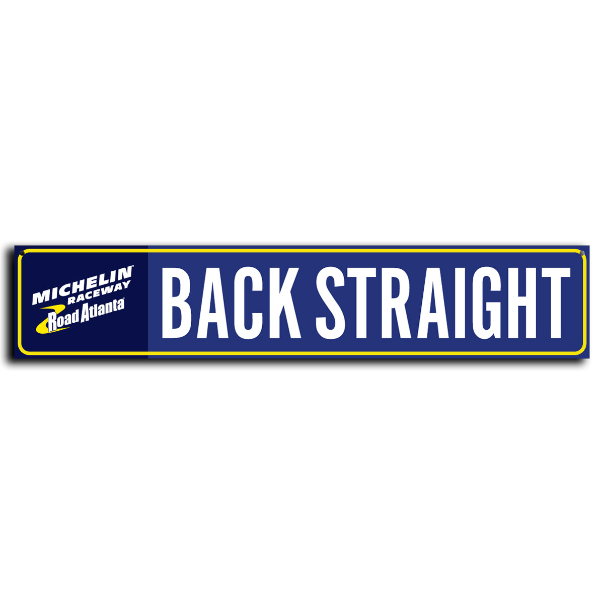 Street Sign - Back Straight