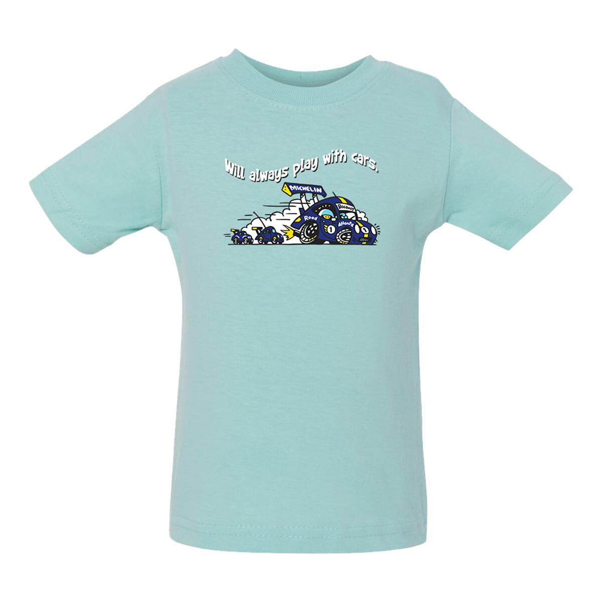 Michelin Raceway Road Atlanta Infant Tee - Chill Green