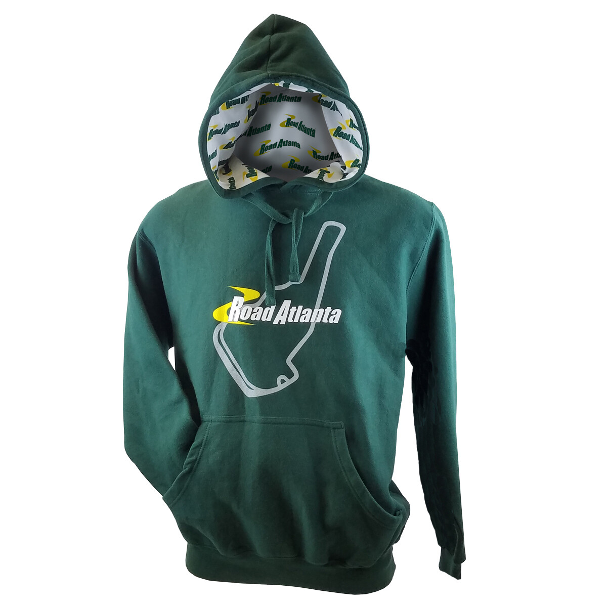 Road Atlanta Hooded Sweatshirt - Forest Green