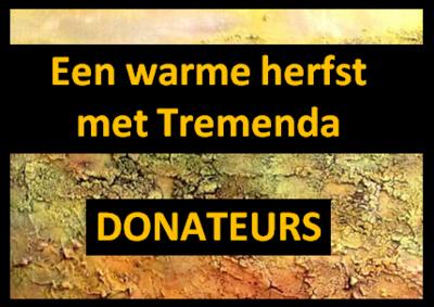 Herfstconcert - Donateurs