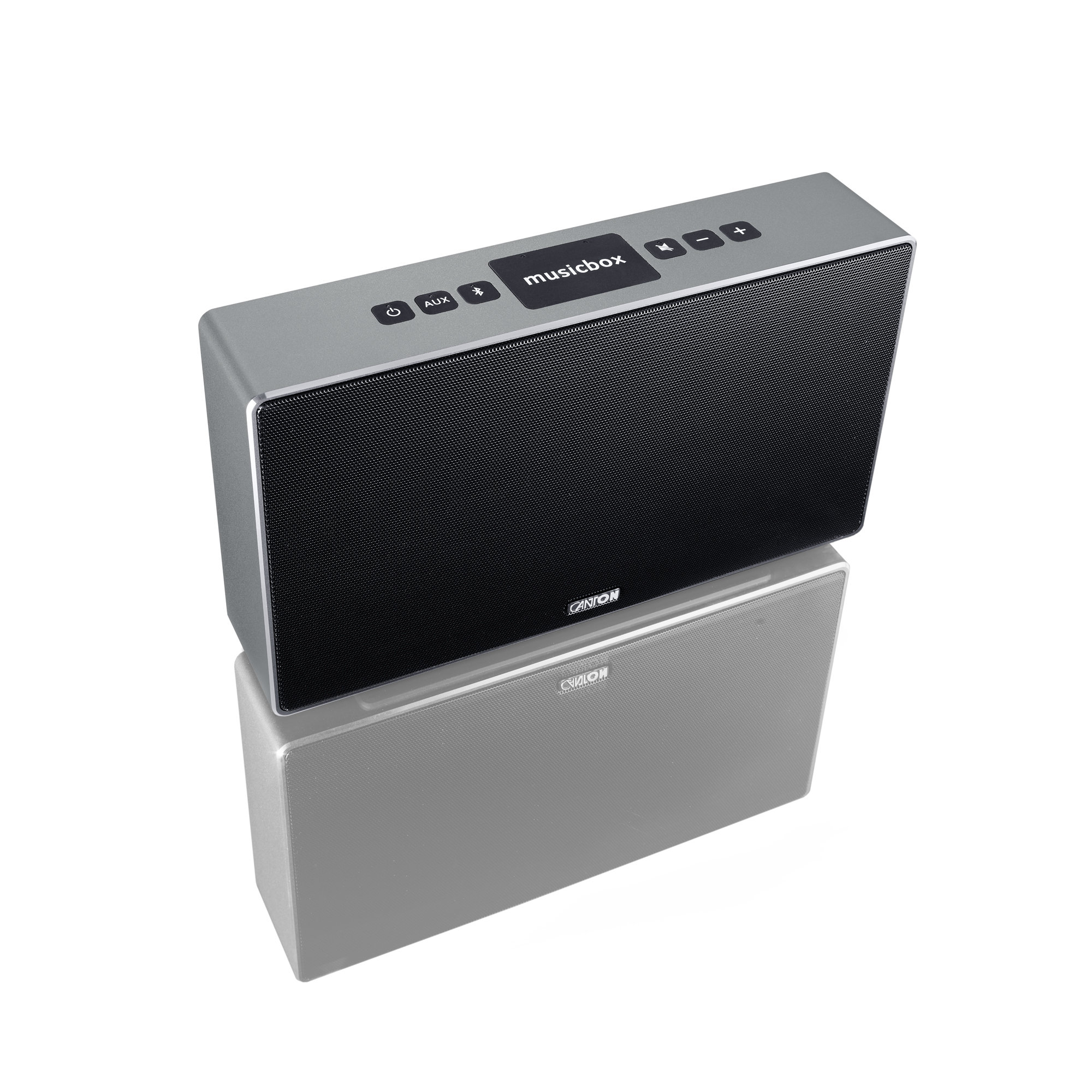 Canton musicbox S (silber)