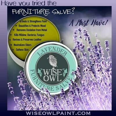 Wise Owl Furniture Salve 4oz