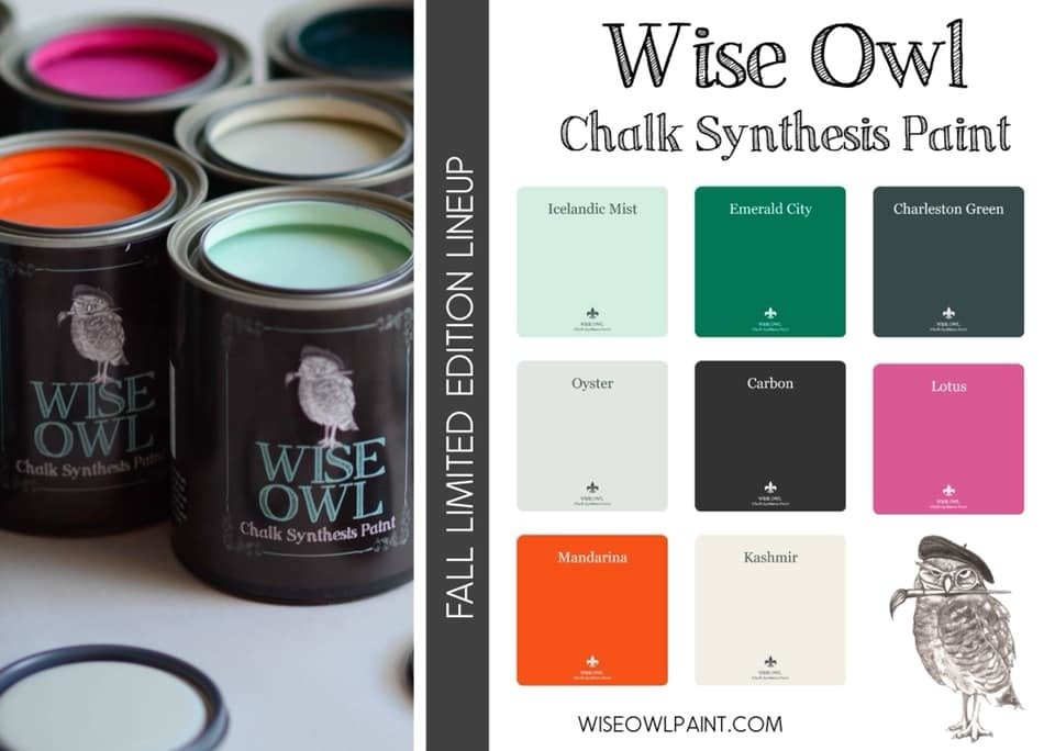 WISE OWL PAINT  FALL COLORS LTD EDITION    16 oz