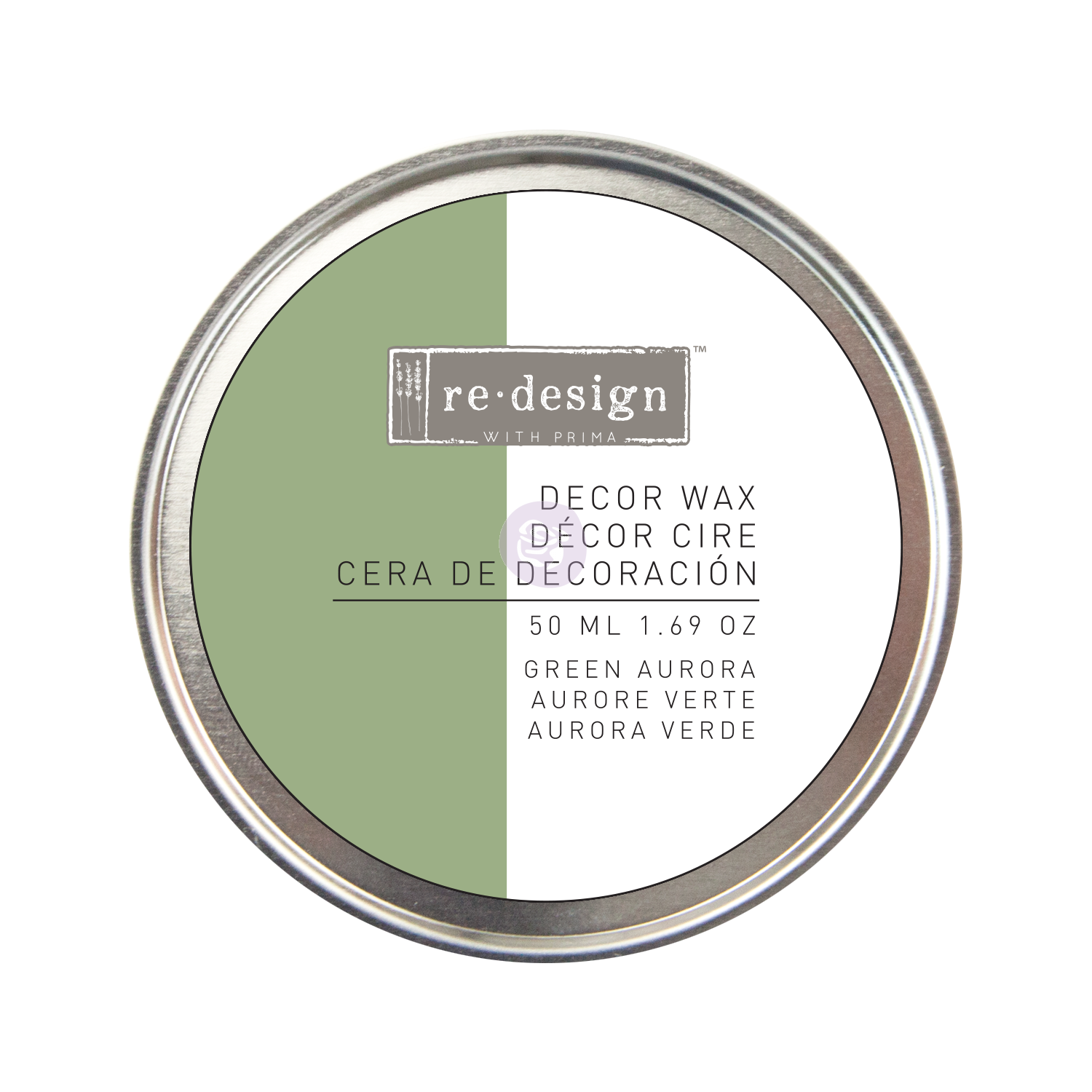 Decor Wax color GREEN AURORA