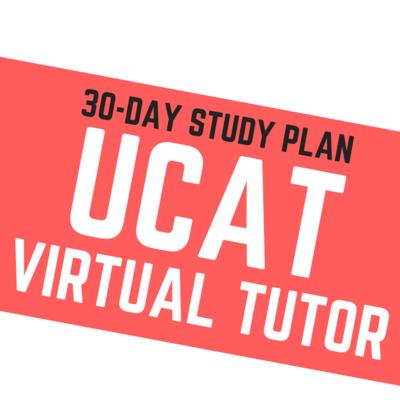 30-Day UCAT Virtual Tutor