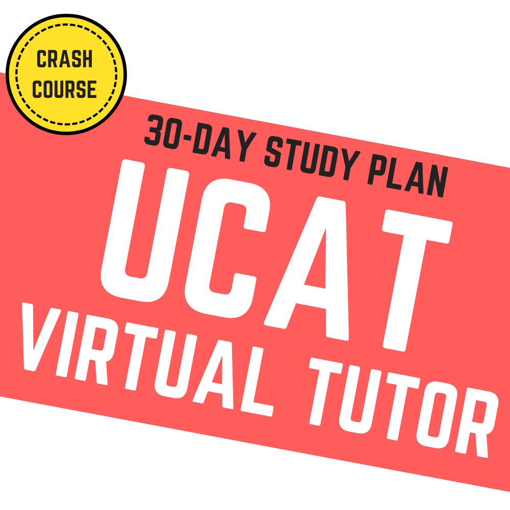30-Day UCAT Virtual Tutor [Accelerated]
