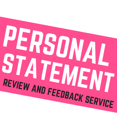 Personal Statement Review and Feedback Service