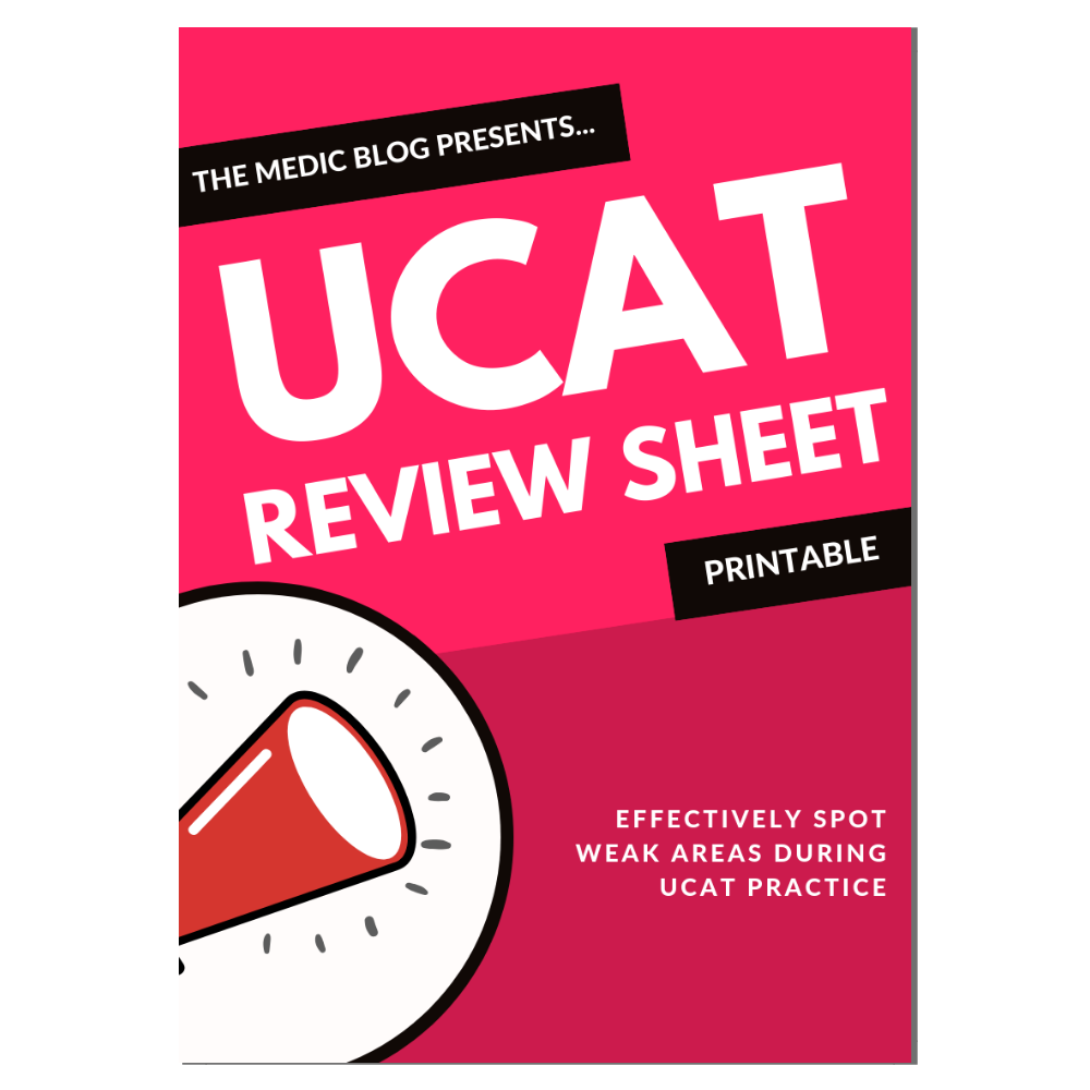 UCAT Review Sheet