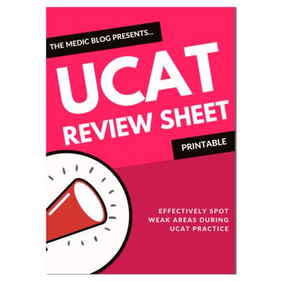 UCAT Review Sheet
