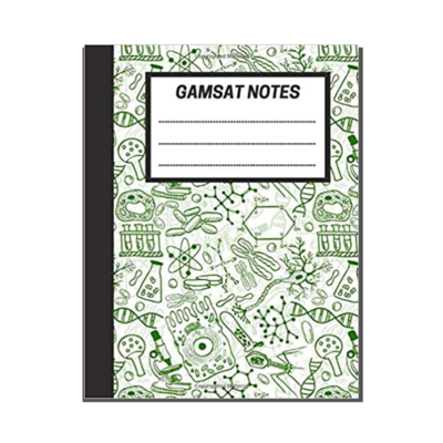 GAMSAT Notes: Lined Notebook - Cell Biology cover