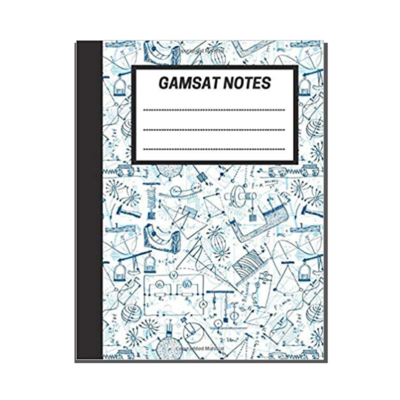 GAMSAT Notes: Lined Notebook - Physics cover