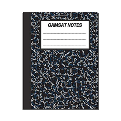 GAMSAT Notes: Lined Notebook - General Chemistry cover