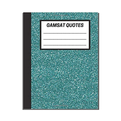 GAMSAT Quotes: Aqua Marine cover