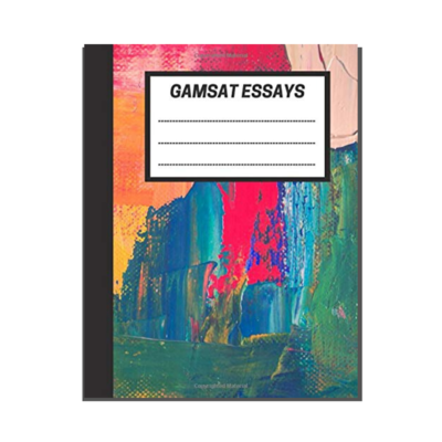 GAMSAT Essays: Colourful Abstract Textural cover