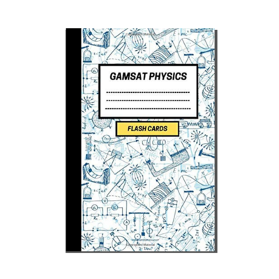 GAMSAT Physics Flashcard Notebook - Physical Science cover