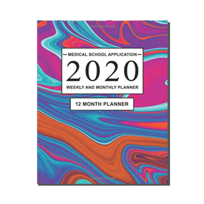 Medical School Application  - 12 Month Planner