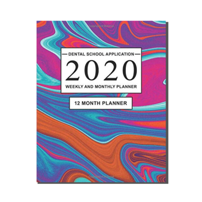 Dental School Application - 12 Month Planner