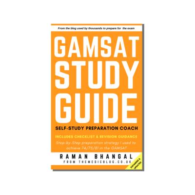 GAMSAT Study Guide: Self-study Preparation Coach