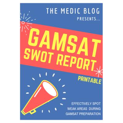 GAMSAT SWOT Sheet