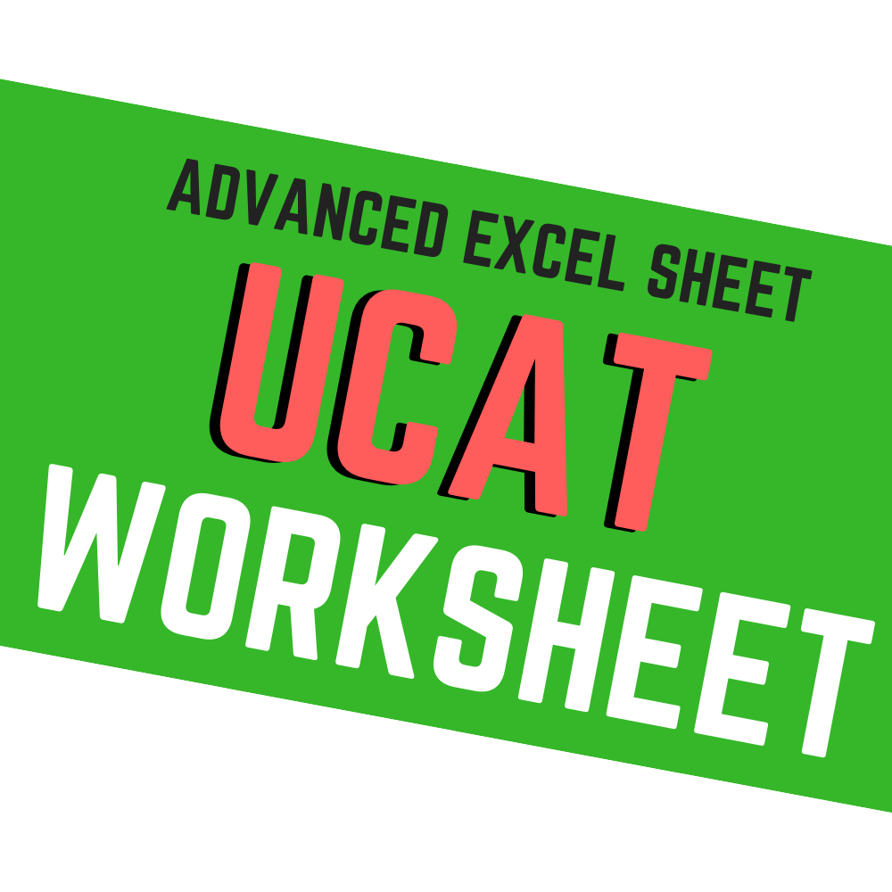 UCAT WORKSHEET 006