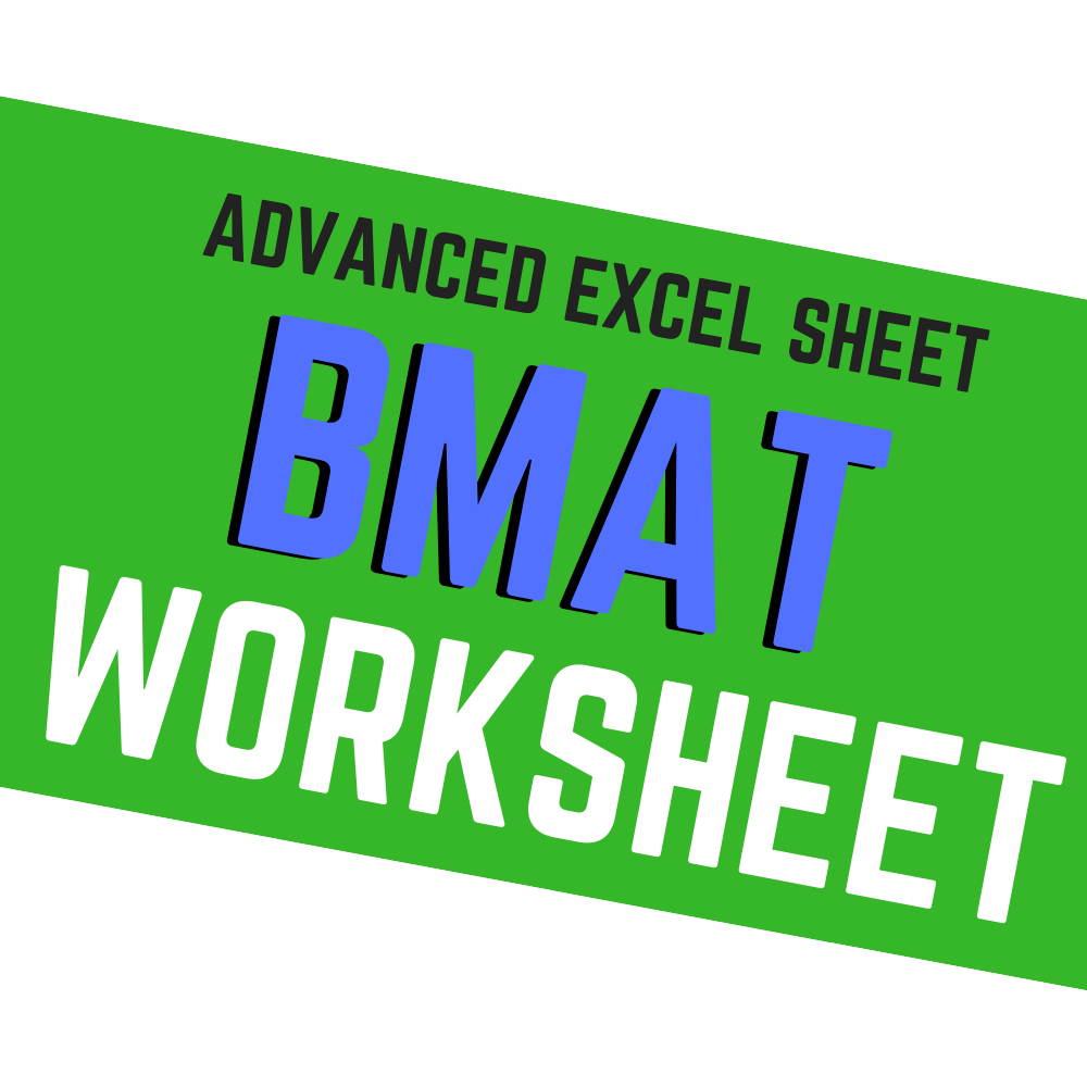 BMAT WORKSHEET 007