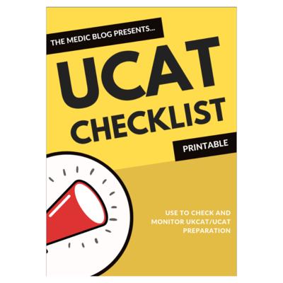 UCAT Checklist