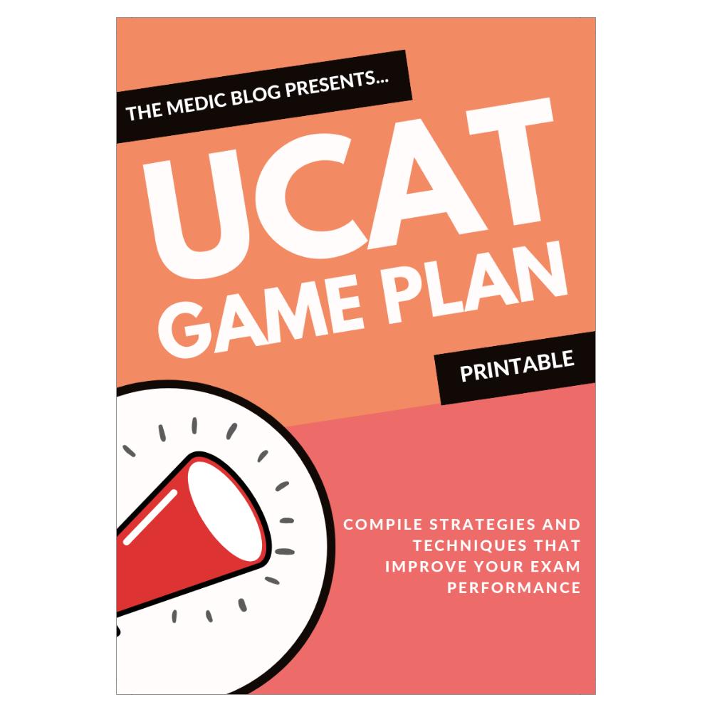 UCAT Game Plan