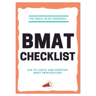 BMAT Checklist