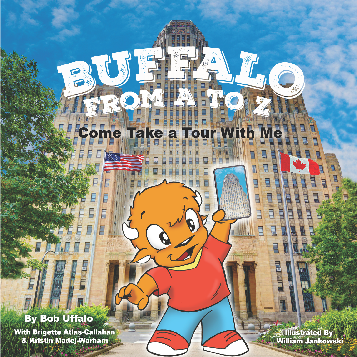 Buffalo From A-Z Come Take A Tour With Me (soft cover)