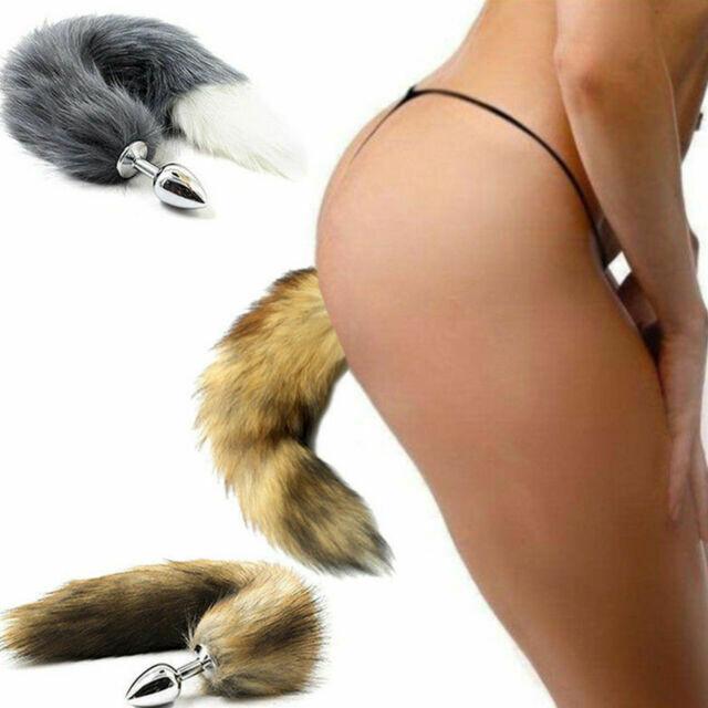Fur Foxy Tail Anal Butt Plug