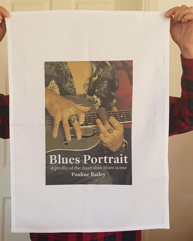 Tea towel - Blues Portrait